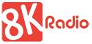 8k radio logo