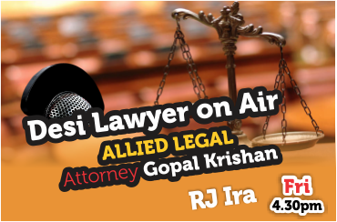 Desi Lawyer on Air