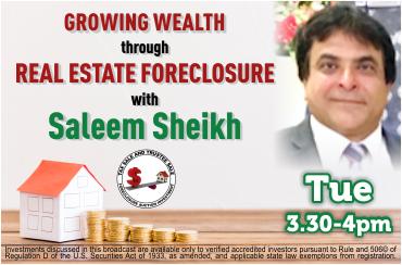Growing wealth with Saleem Sheikh